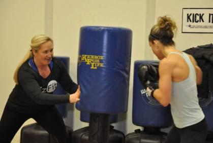 Kickboxing with LuAn